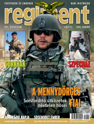 Regiment Magazine 2011/01